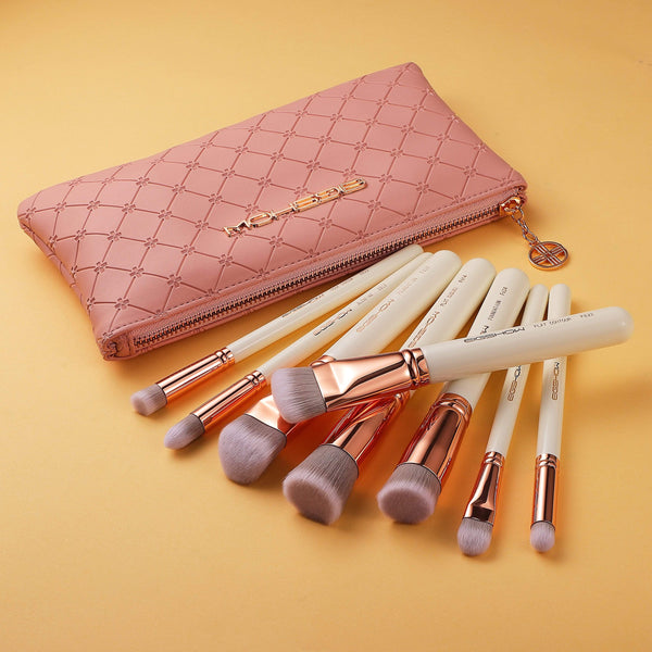 8 PCS SCULPT AND BLEND BRUSH KIT - ROSE GOLD - EIGSHOW Beauty