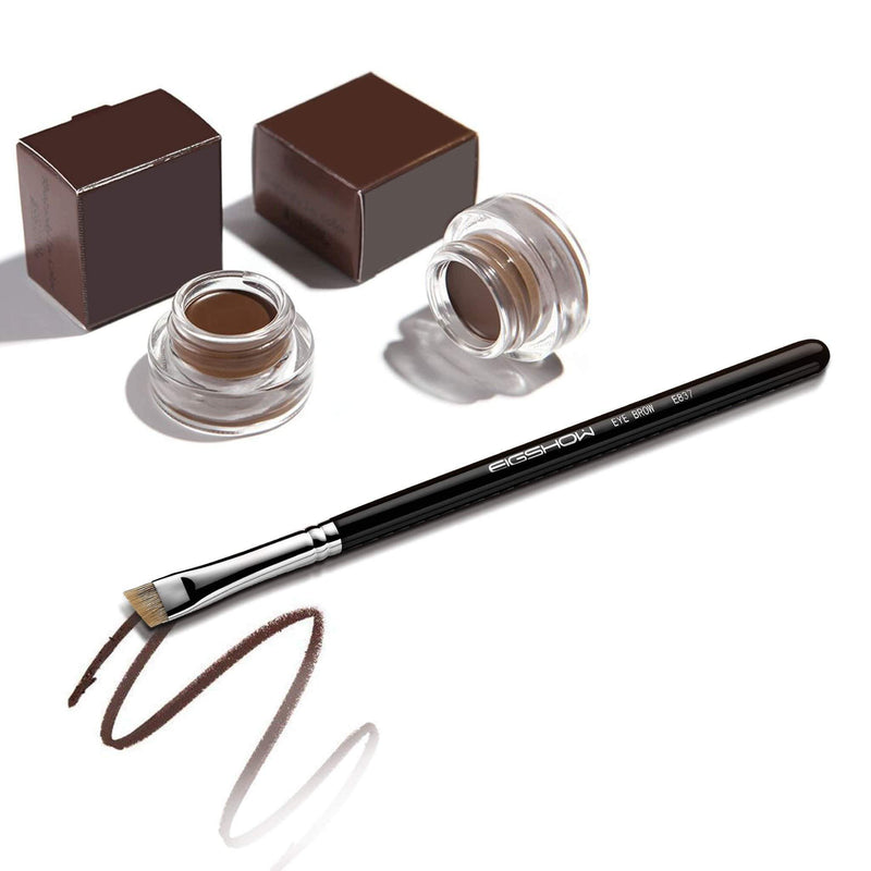 E837 - ANGLED EYE BROW BRUSH - EIGSHOW Beauty