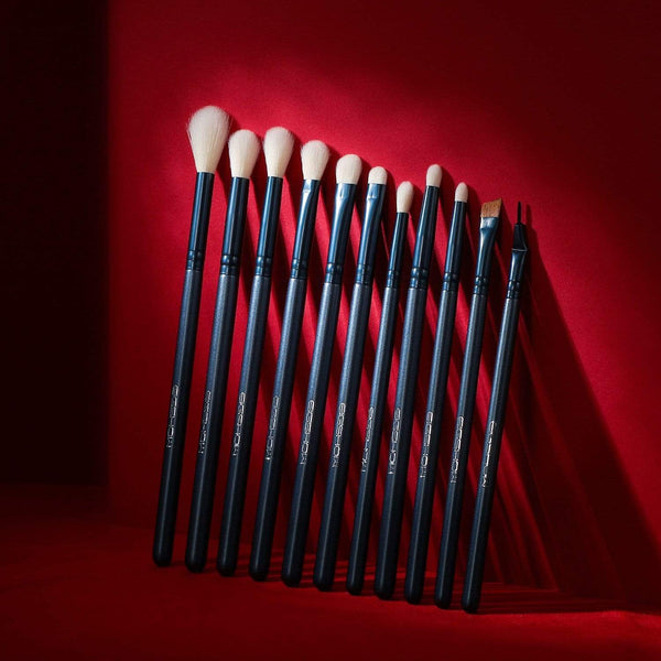 JADE SERIES - 11 PCS EYE BRUSH KIT - TOURMALINE BLUE - EIGSHOW Beauty