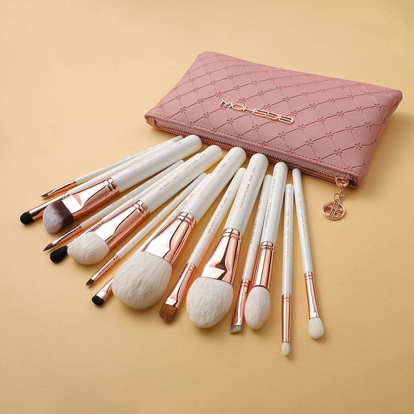 Eigshow Beauty MASTER SERIES - 15 PCS CLASSIC BRUSH KIT - ROSE GOLD