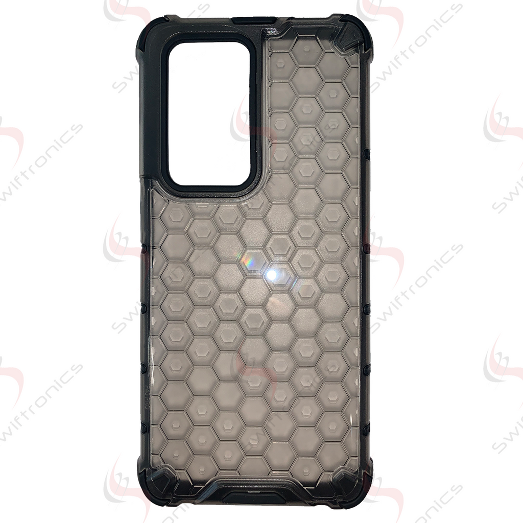 Huawei P40 Pro Honeycomb Defensive Case - Translucent