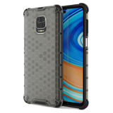 Xiaomi Redmi 9 Pro Honeycomb Hard PC Back Cover Soft TPU Bumper Airbag Tough Case