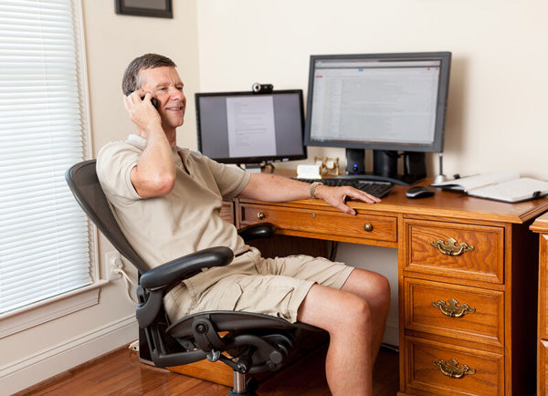ergonomic work from home tips