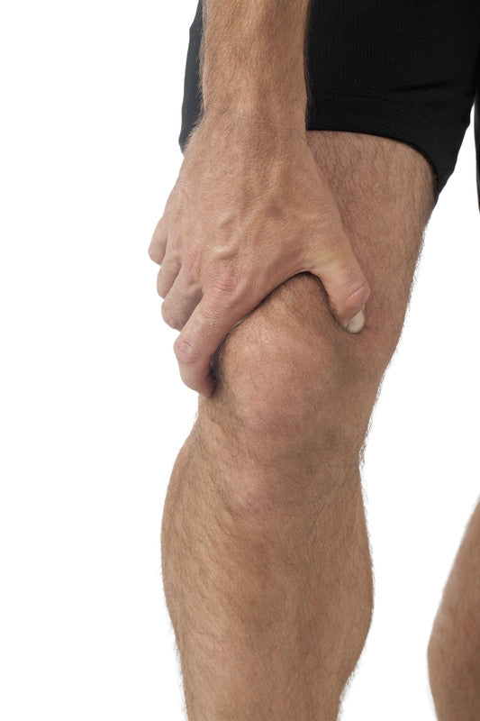 man with iliotibial band syndrome pain