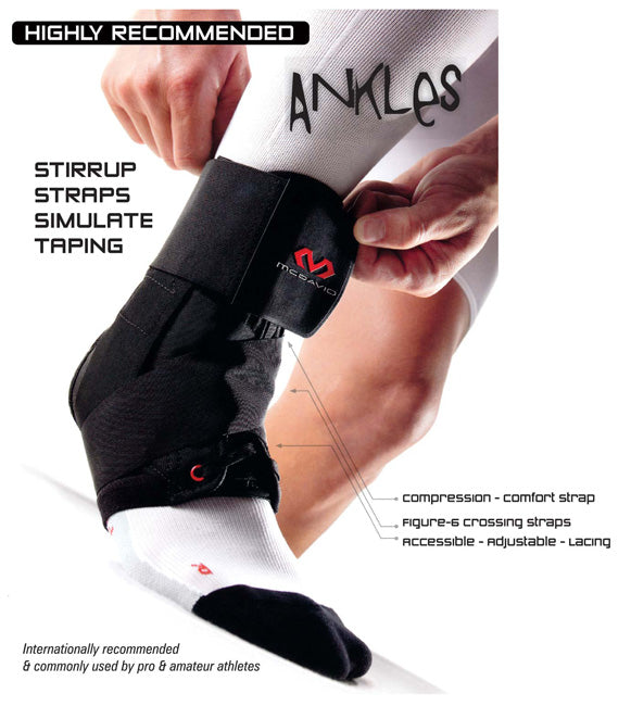 mcdavid 195 ankle brace benefits