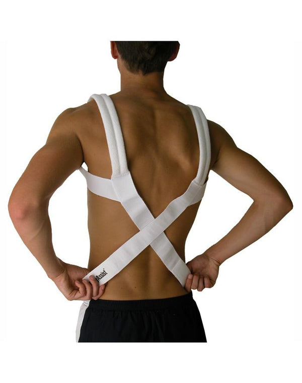 body assist rounded shoulders brace