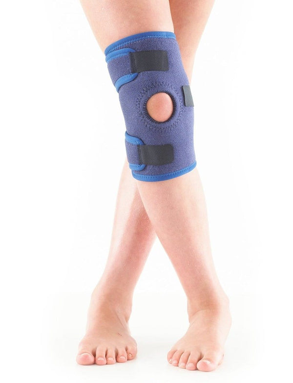 knee brace kids blue front