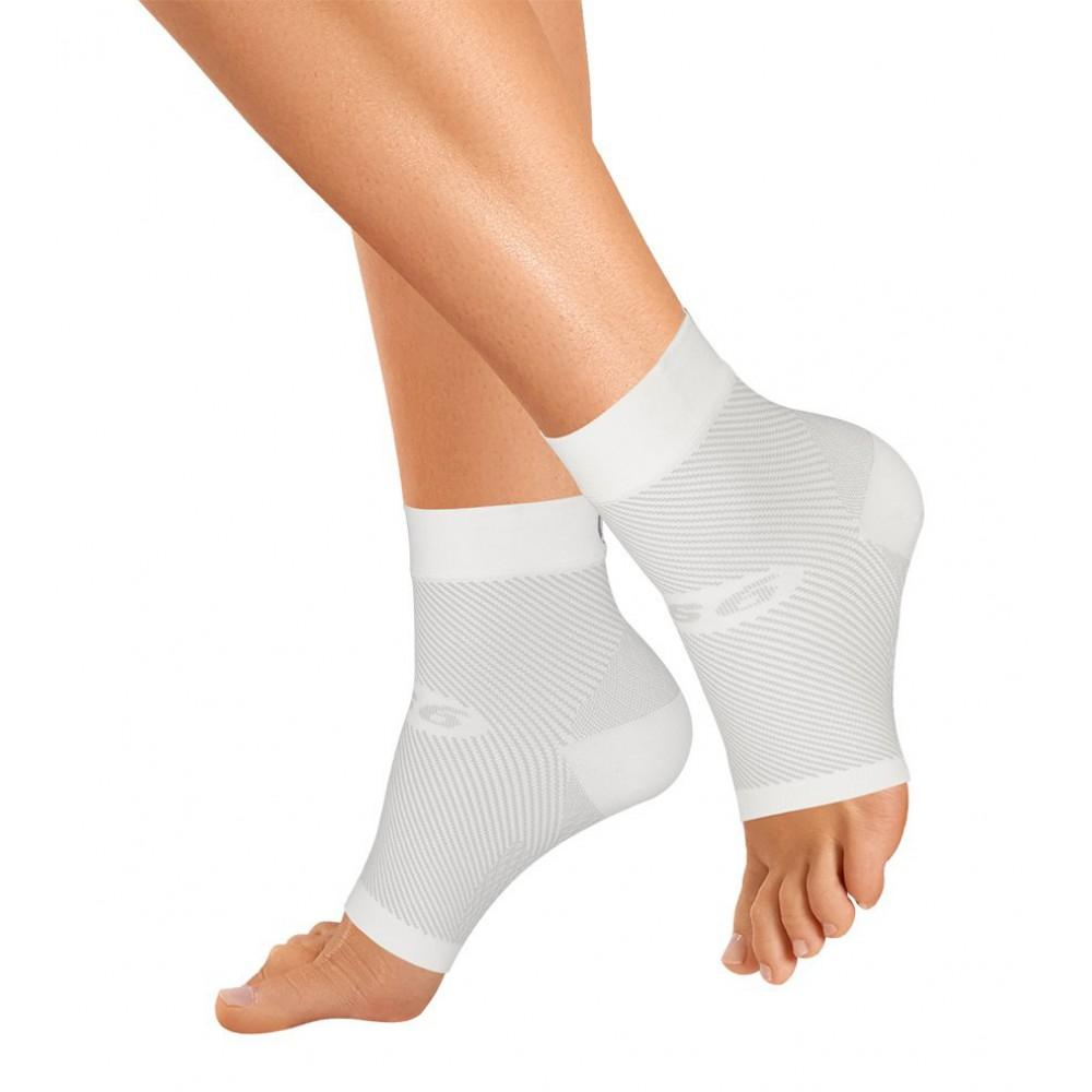 os1st orthosleeve fs6 white foot sleeves