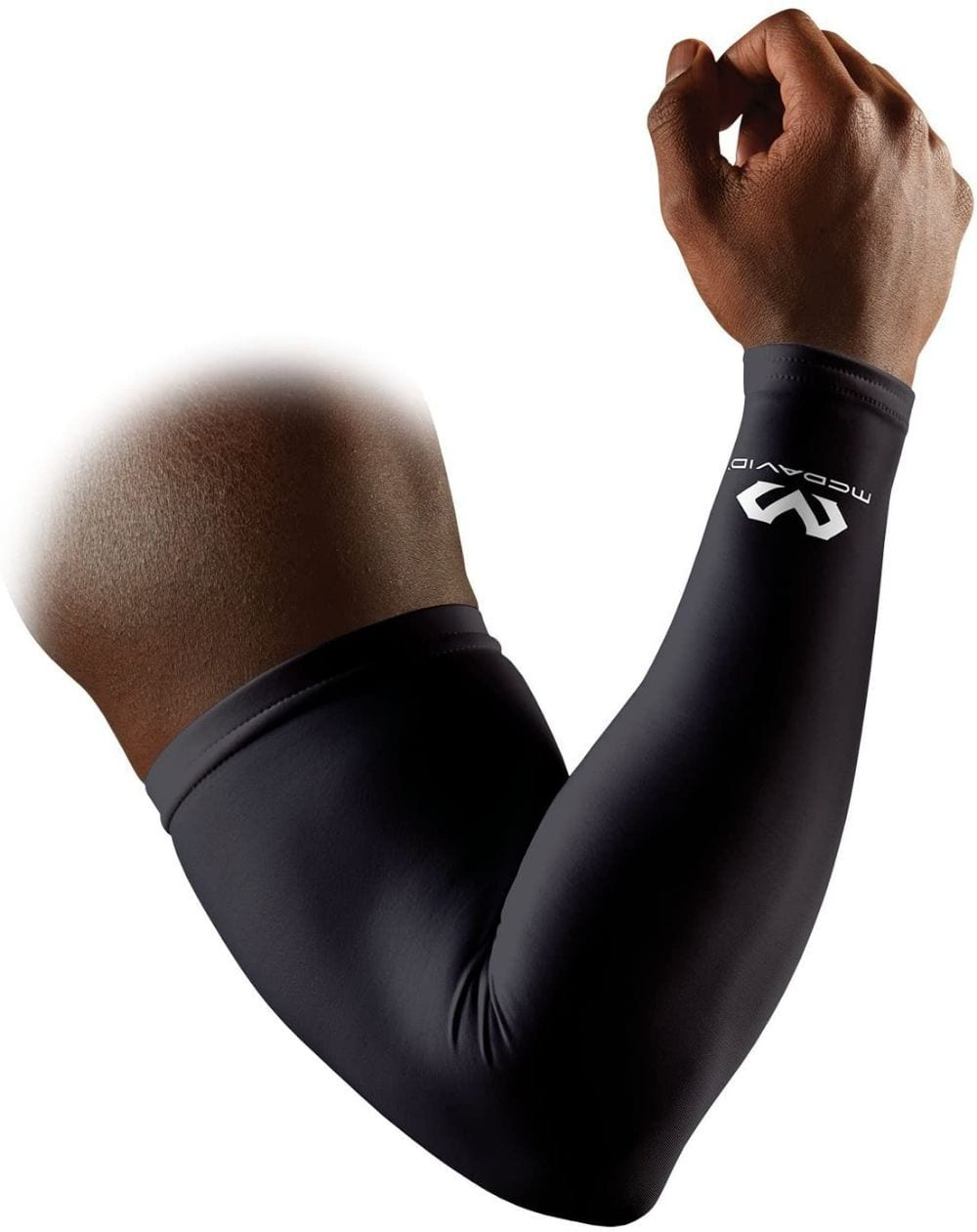 mcdavid compression arm sleeve black