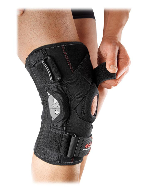 mcdavid hinged knee brace cross straps md429x