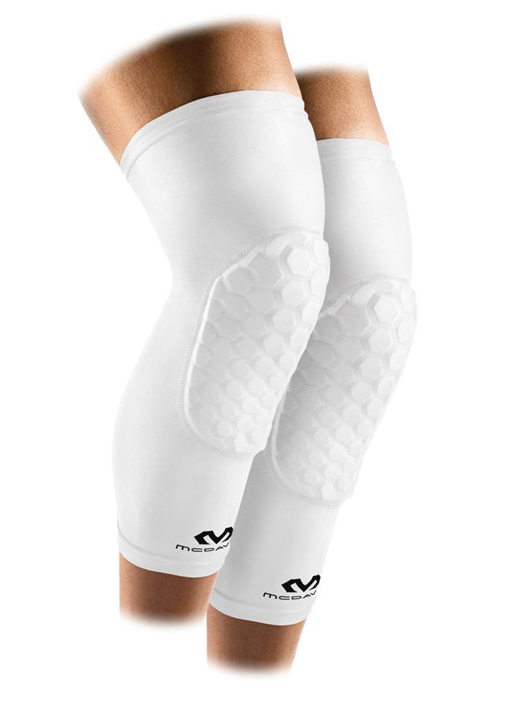 mcdavid white hex leg sleeves 6446