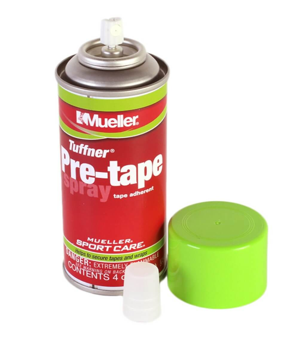 mueller adhesive tape spray