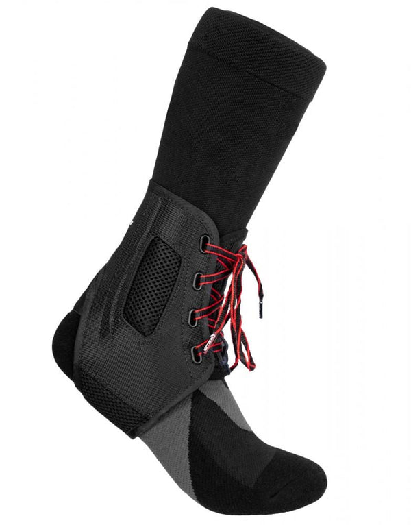 mueller atf3 black ankle support side