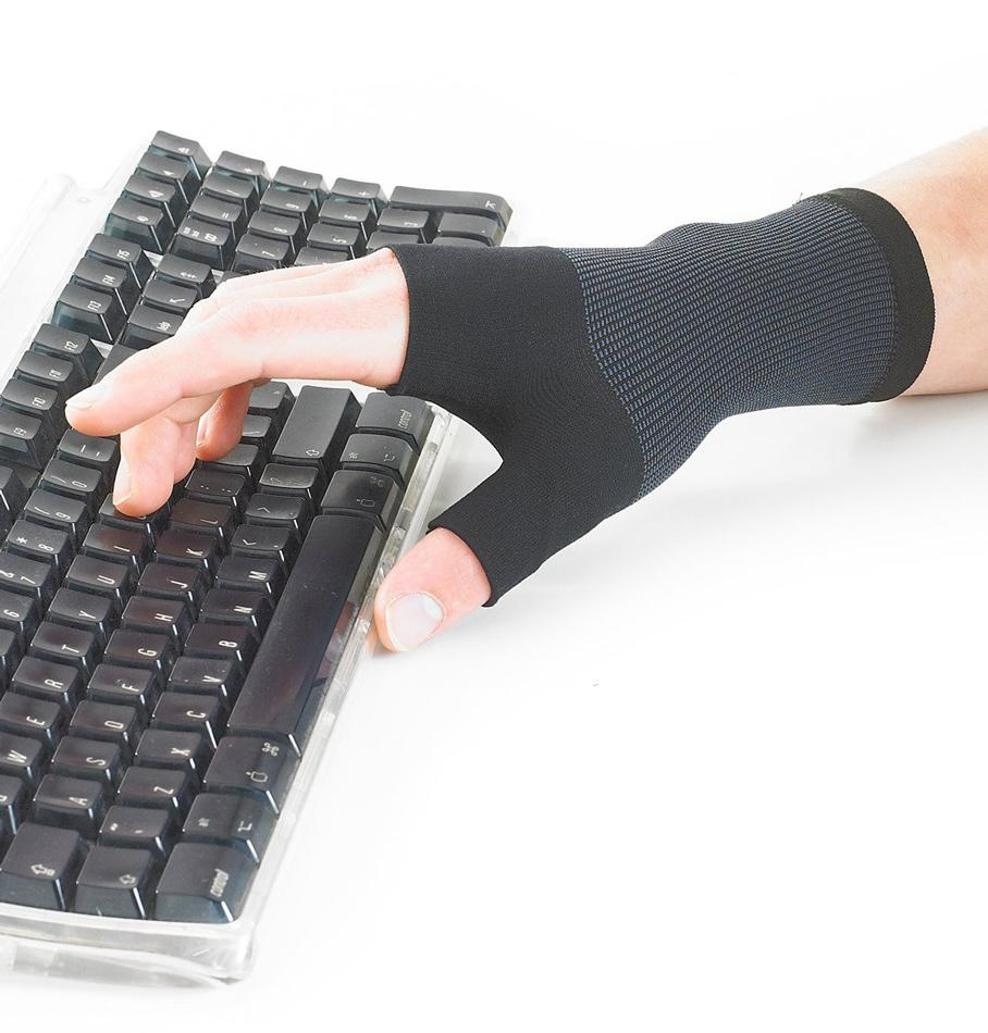 keyboard wrist thumb support arthritis