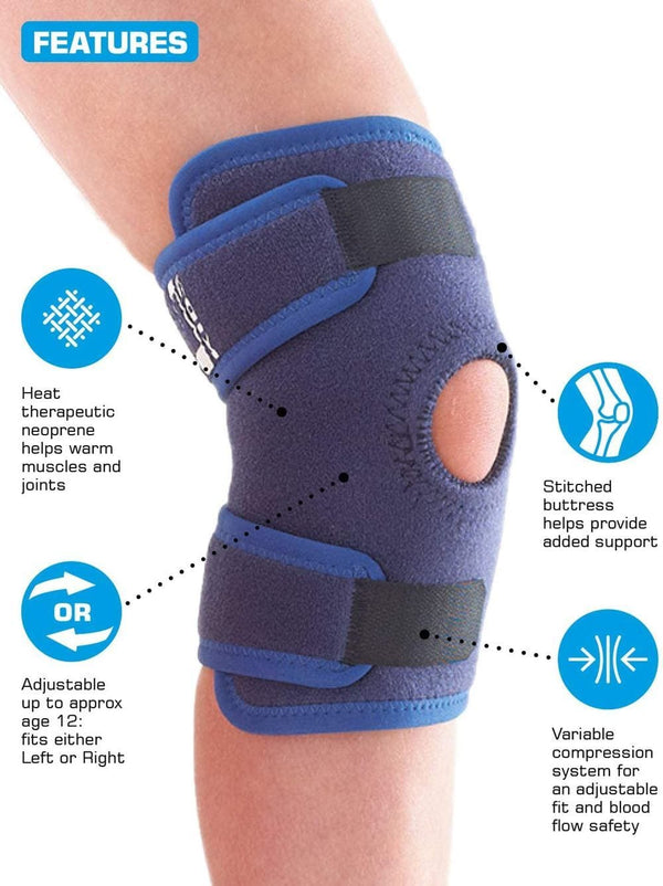 neo g kids knee brace features