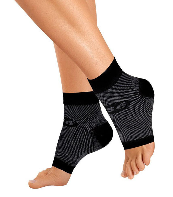 OS1st Orthosleeve FS6 Black Compression Foot Sleeves