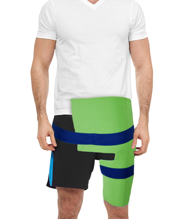 polar ice hip pain injury ice wrap