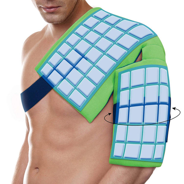polar ice shoulder pain injury ice wrap