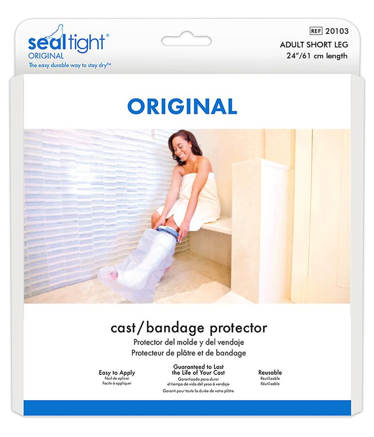seal tight shower waterproof cast cover 20103