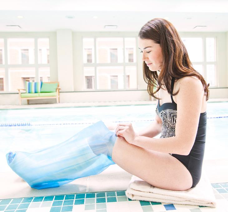 Seal-Tight waterproof swimming cast cover - adult long leg 20323