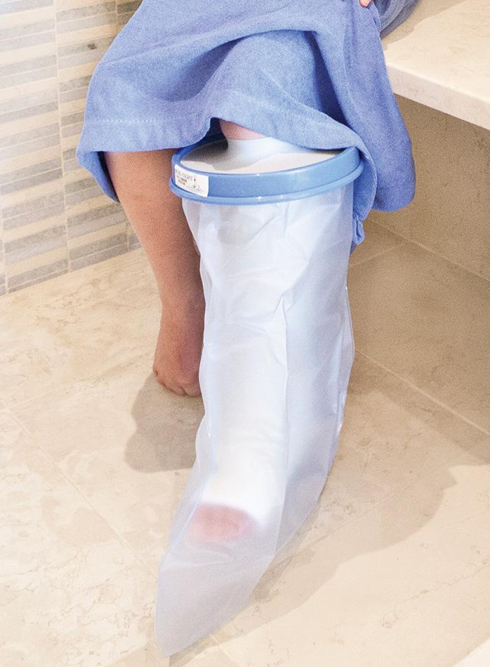 seal-tight waterproof large leg cast cover kids 20205