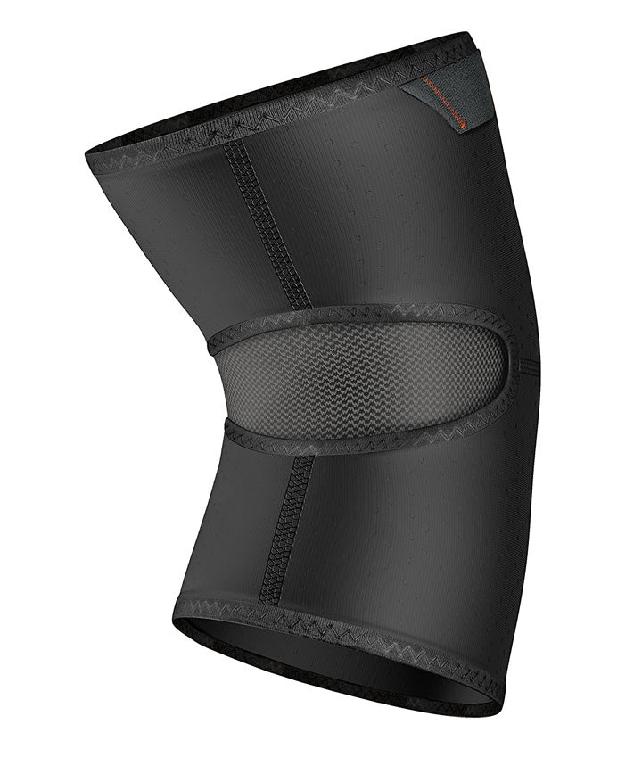 shock doctor knee compression sleeve back
