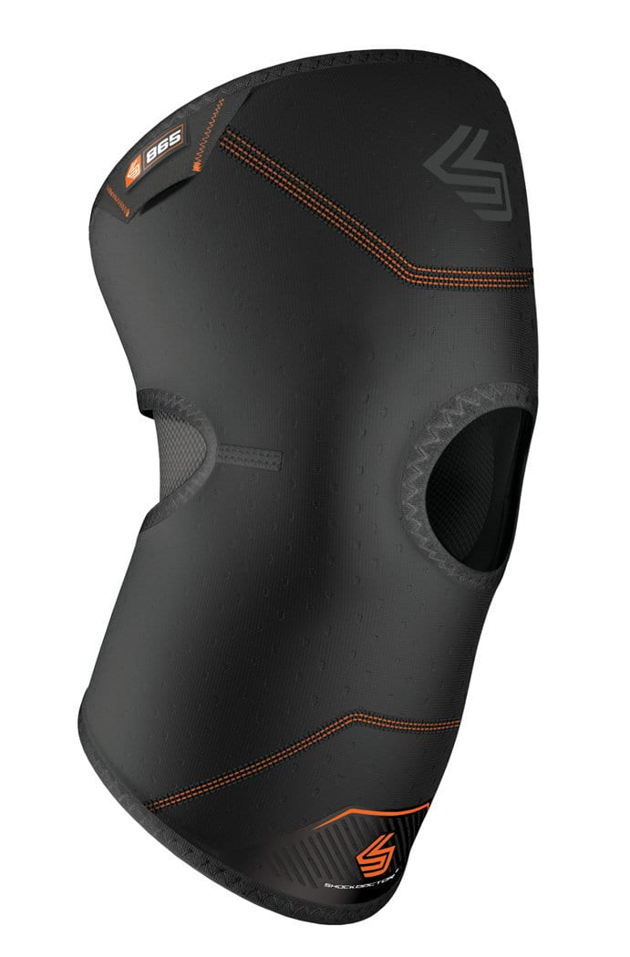 shock doctor knee compression sleeve patella 865