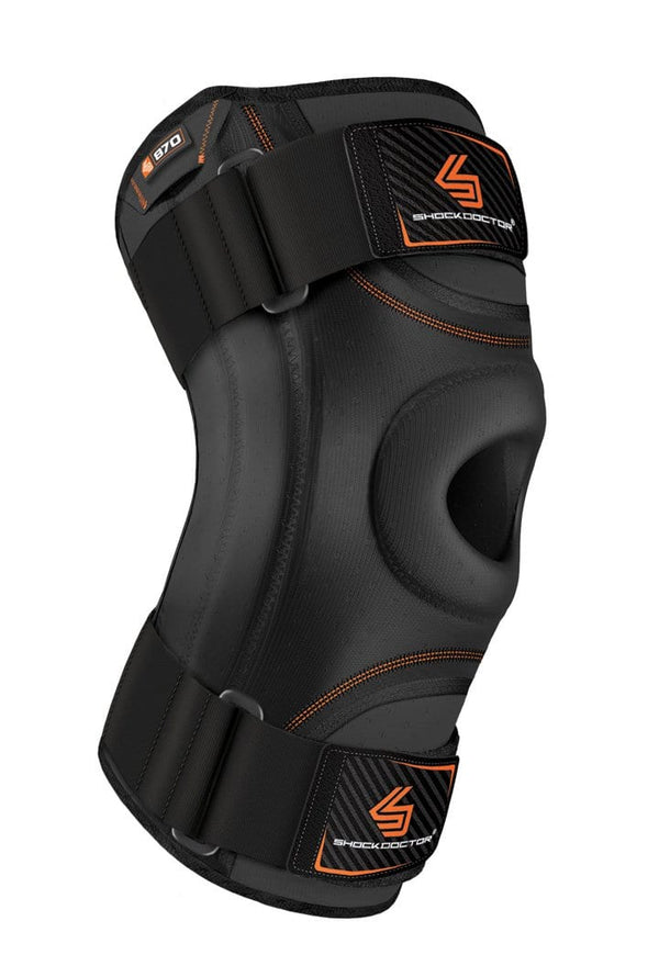 shock doctor knee stabilizer flexible stays 870