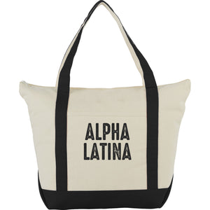 Alpha Latina Tote Bag - Luz Collective Shop