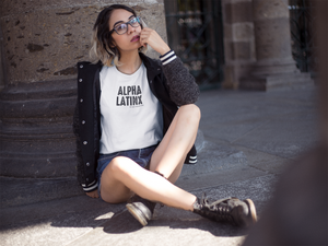 Alpha Latinx Ultra Soft Short Sleeve Tee - Luz Collective Shop