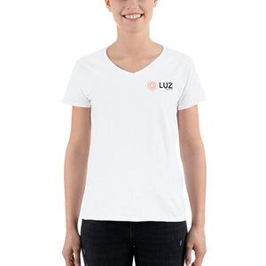 Luz Collective latina resources white tee Shirt large
