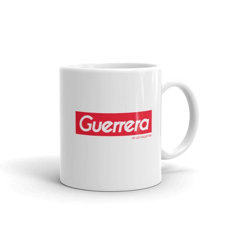 Guerrera Mug latin sayings white mug by luz collective