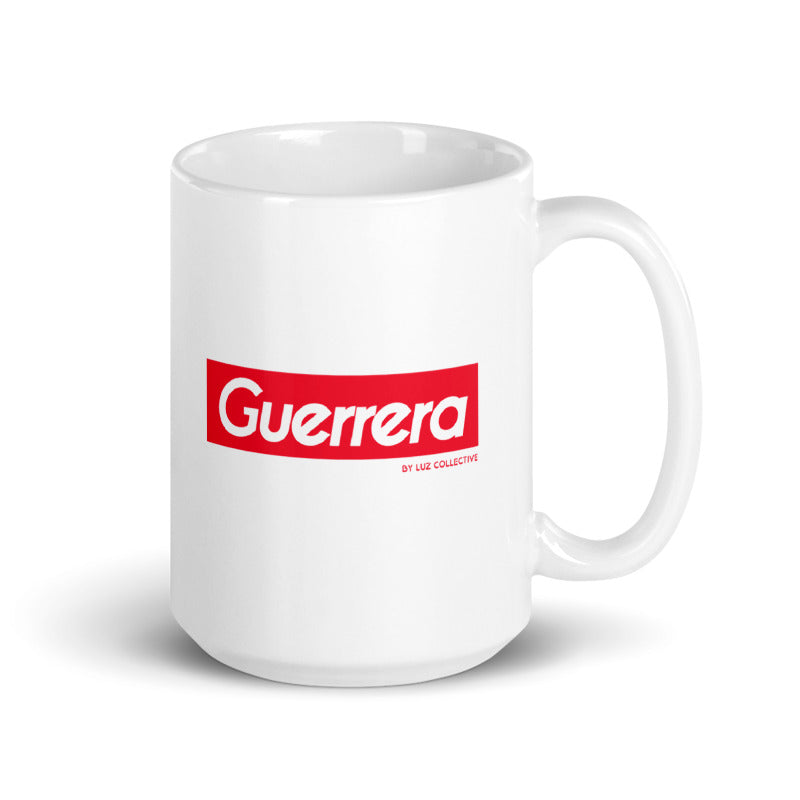 Guerrera Mug latin sayings 15oz white mug by luz collective