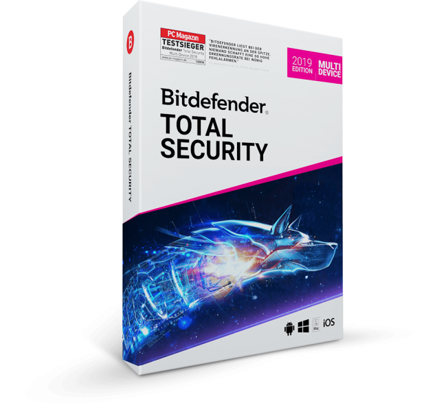 Bitdefender Total Security Multi Device 2019 - Software-Markt data-zoom=
