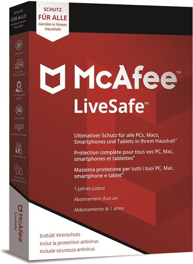 McAfee LiveSafe 2019 - Software-Markt data-zoom=