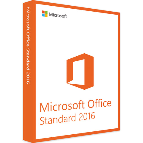 Microsoft Office Standard 2016 - Software-Markt