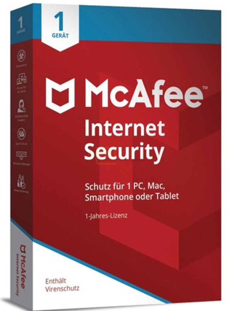 McAfee Internet Security 2019 - Software-Markt data-zoom=