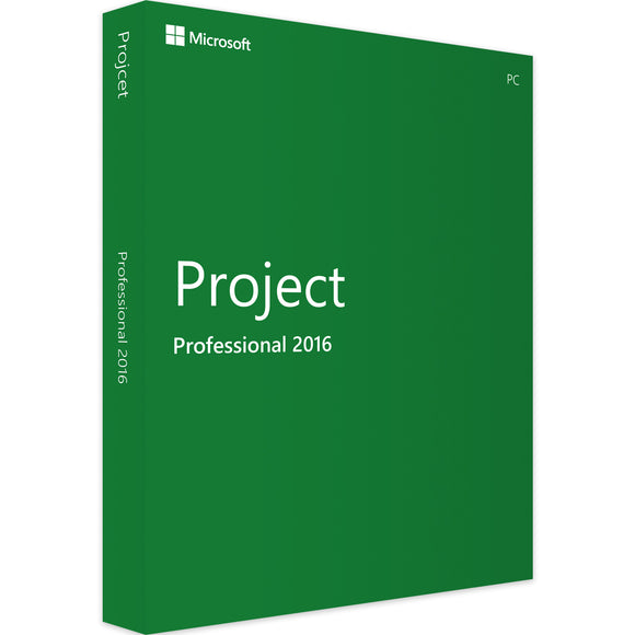 Microsoft Project Professional 2016 - Software-Markt