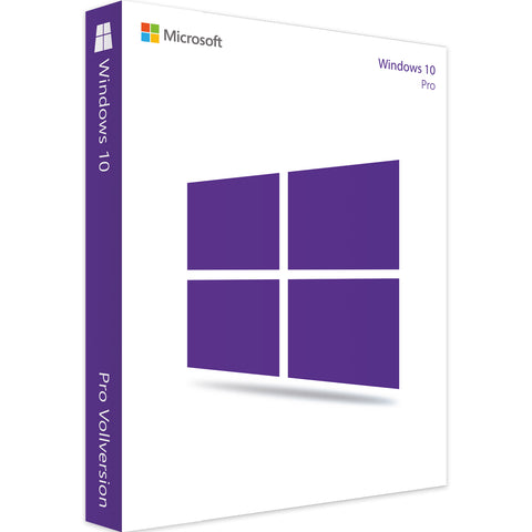 Microsoft Windows 10 Professional - Software-Markt
