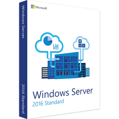 Microsoft Windows Server 2016 Standard für 16 Cores - Software-Markt