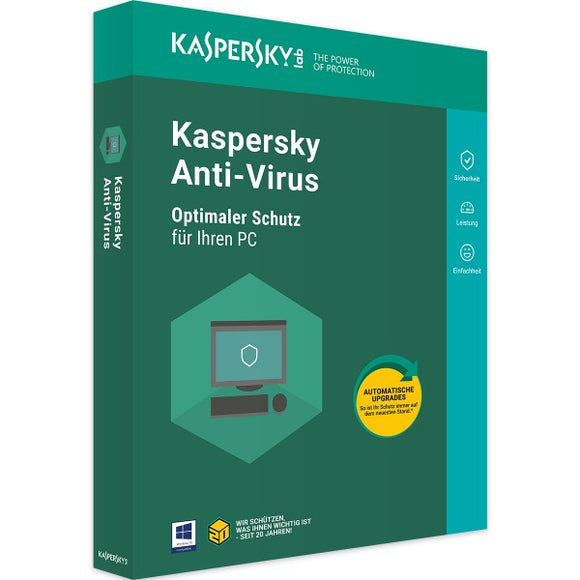 Kaspersky Anti-Virus 2019 - Software-Markt