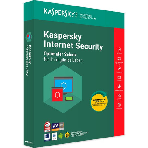 Kaspersky Internet Security 2019 - Software-Markt