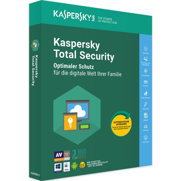 Kaspersky Total Security 2019 - Software-Markt data-zoom=