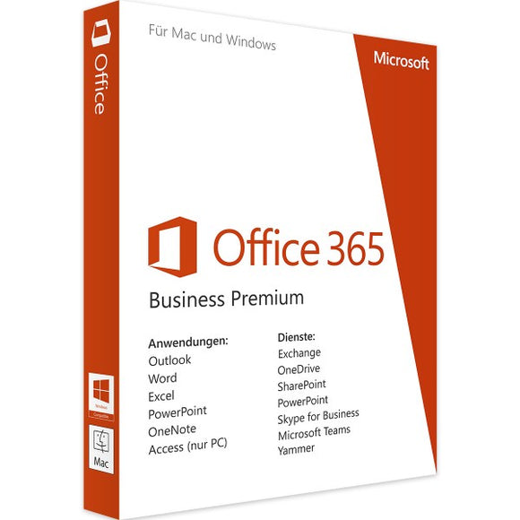 Microsoft Office 365 Business Premium - Software-Markt