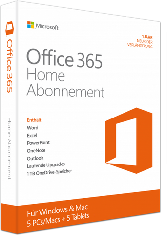 Microsoft Office 365 Home - Software-Markt