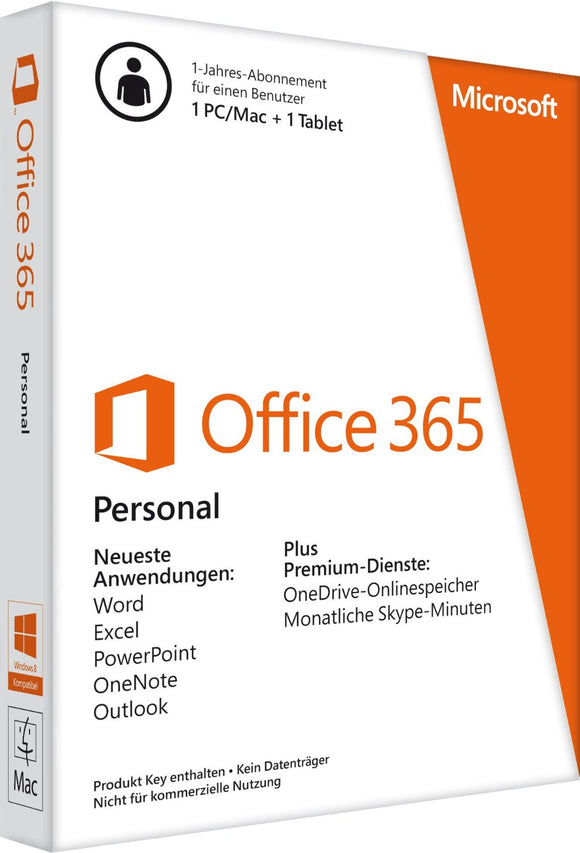 Microsoft Office 365 Personal - Software-Markt