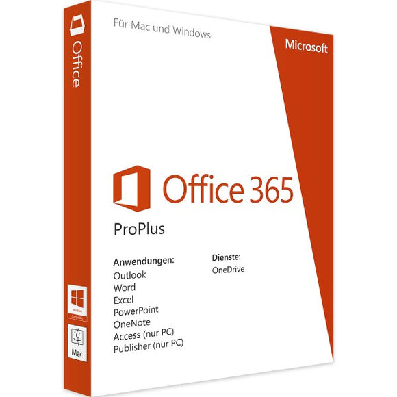Microsoft Office 365 Pro Plus - Software-Markt