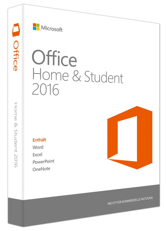 Microsoft Office Home and Student 2016 - Software-Markt