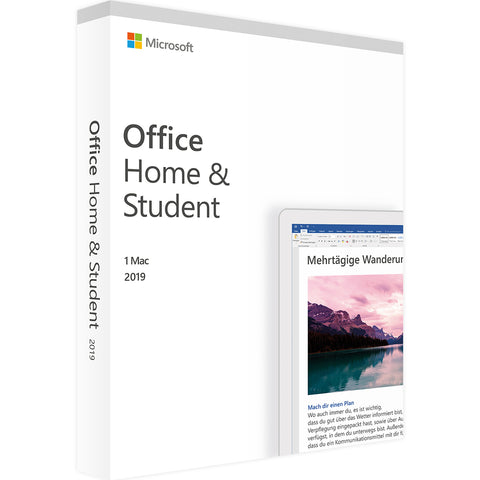 Microsoft Office Home and Student 2019 für Mac
