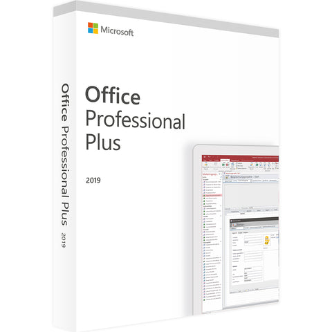 Microsoft Office Professional Plus 2019 - Software-Markt